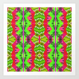 Ultra Mega Nailed it Retro Vintage 60s Psychedelic Soul Print Art Print