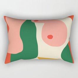 abstract nude 2 Rectangular Pillow