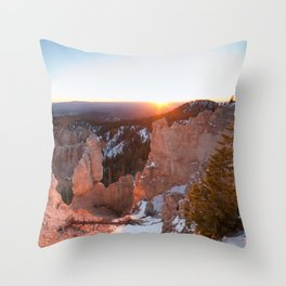 Bryce Canyon Sunrise Throw Pillow