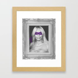 Donatella Framed Art Print