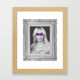 Donatella Framed Art Print