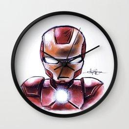 Iron Man - Chibi Anime Style Wall Clock