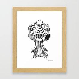 Sophism Tree Framed Art Print