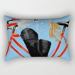Black Sun Magic Rectangular Pillow