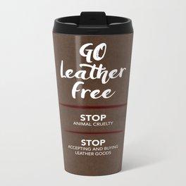 Go Leather Free Metal Travel Mug