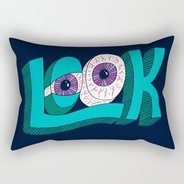 LOOK! Rectangular Pillow