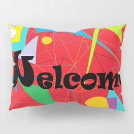 American Sign Language ASL WELCOME Pillow Sham