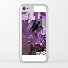 Abract Art Clear iPhone Case