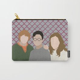 Why is it, when something happens, it is always you three? Carry-All Pouch