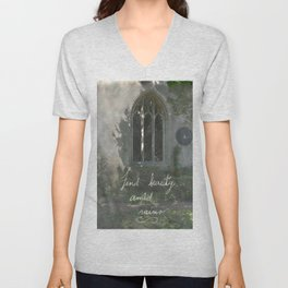 Beauty in Ruins Unisex V-Neck