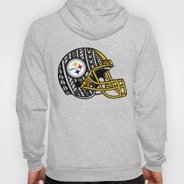 Polynesian style Steelers Hoody