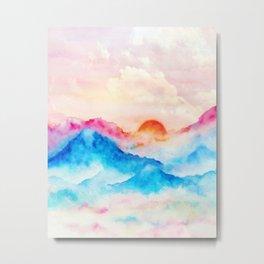 Sunset w.01 Metal Print