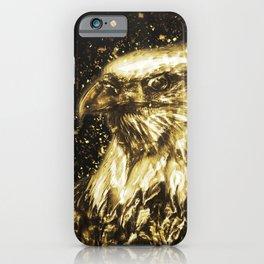 Golden American Eagle iPhone Case