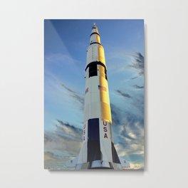 NASA Saturn V - Huntsville, AL Metal Print