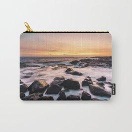 Sunset Lava Beach Hawaii Carry-All Pouch