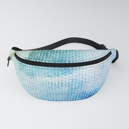 Textured Pastel Cotton-Candy Clouds Design Fanny Pack