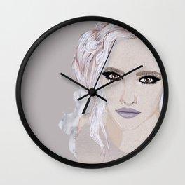 Wintery 1 Wall Clock