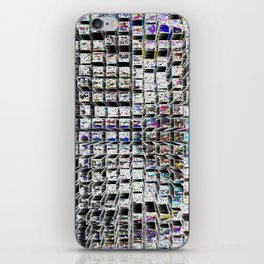 Looking Down at the City Lights iPhone Skin