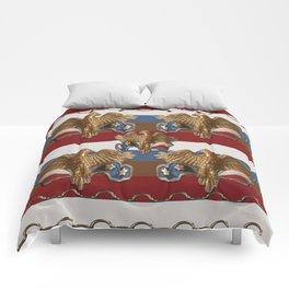 Bronze American Eagles Comforters