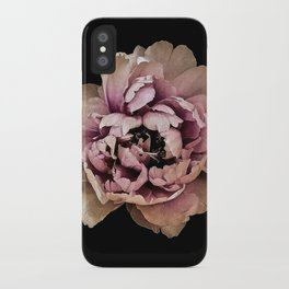Lush Peony, Nobility And Honour iPhone Case