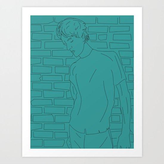 The Chap Art Print