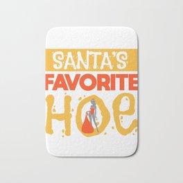Sexy Christmas Santa Claus Slut Gift Bath Mat