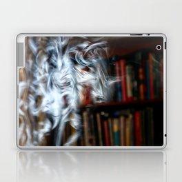 painting with Smoke - Dancing Horse Laptop & iPad Skin