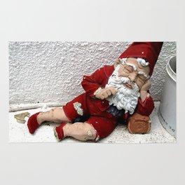 Vintage Santa Claus Rug