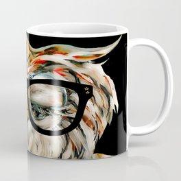 Hipster Owl Coffee Mug