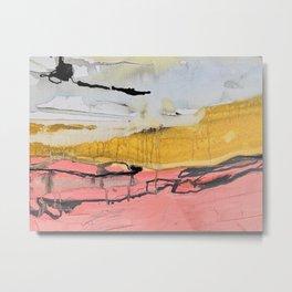 Pink shores Metal Print