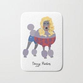 Doggy Parton Bath Mat