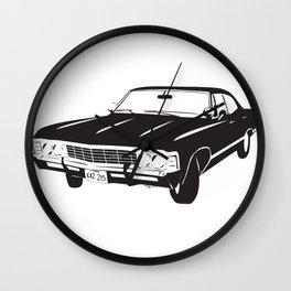 Supernatural Chevrolet Impala 67' Wall Clock