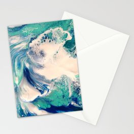 Ocean Splash Stationery Cards