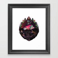 Morpho Cypris Framed Art Print