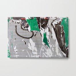Urban Layers Metal Print