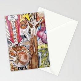 Anatomy Mash-up Stationery Cards