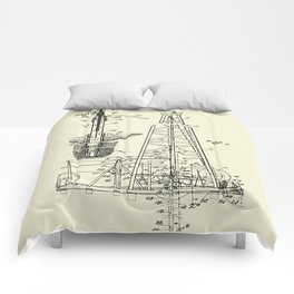 Combination Standard and Hydraulic Drilling Rig-1911 Comforters