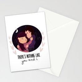 You & I Stationery Cards