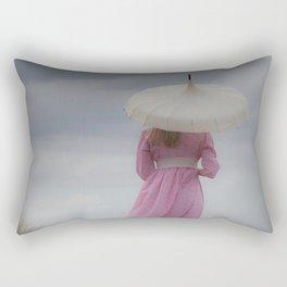 Waiting II Rectangular Pillow