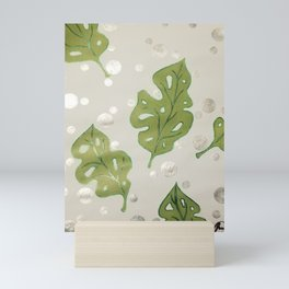 Soapy Greens Mini Art Print