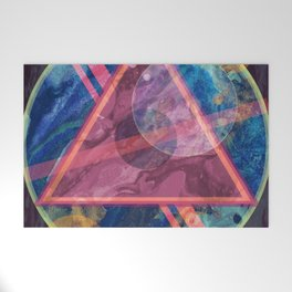 Mystic Astrology Geometry Welcome Mat