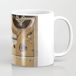 Vintage tape sound recorder reel to reel Coffee Mug
