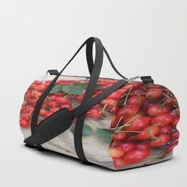 Spilled Cherries Duffle Bag