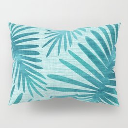 Mid Century Tiki Fronds Pillow Sham