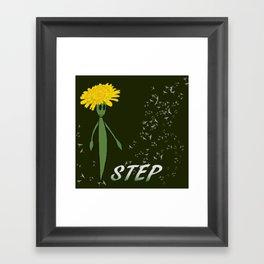 Dandeliono Character poster (STEP) Framed Art Print