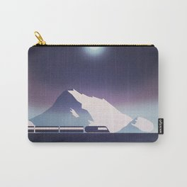Locomotive at night Carry-All Pouch