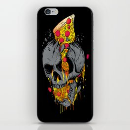 Rest in Pizza iPhone Skin