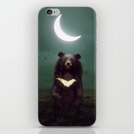 my light in the darkness iPhone Skin