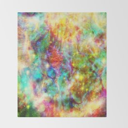 Bright dreams Throw Blanket