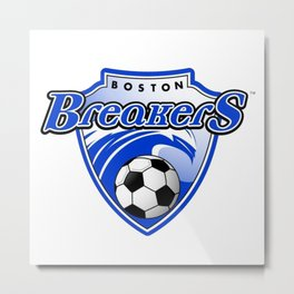 Boston Breakers taem logo Metal Print